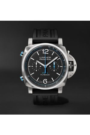 PANERAI Men Watches - Luminor Yachts Challenge Automatic Flyback Chronograph 44mm Titanium and Rubber Watch, Ref. No. PAM00764