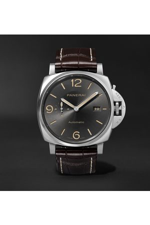PANERAI Luminor Due Automatic 45mm Stainless Steel and Alligator Watch, Ref. No. PAM00943