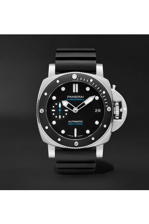 PANERAI Men Watches - Submersible Automatic 42mm Stainless Steel and Rubber Watch