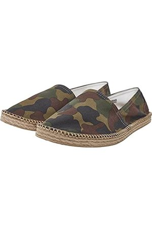Urban classics Unisex Adults' Canvas Slipper Espadrilles, (Woodcamo 00841)