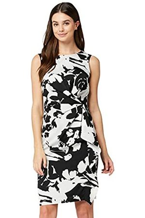 TRUTH & FABLE Amazon Brand - Women's Dress Twist Front Tunic, 14