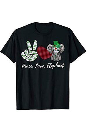 Peace love Elephant T-Shirt