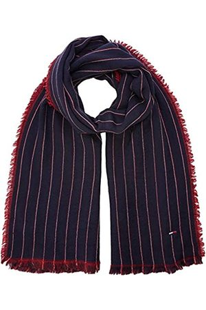 Tommy Hilfiger Men's Double Sided Stripes Scarf