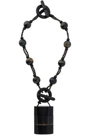 Giorgio Armani 2000s stone detailed necklace