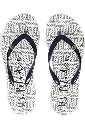 U.S. Polo Assn. Women's Tamy Flip Flops, (Dark DKBL)