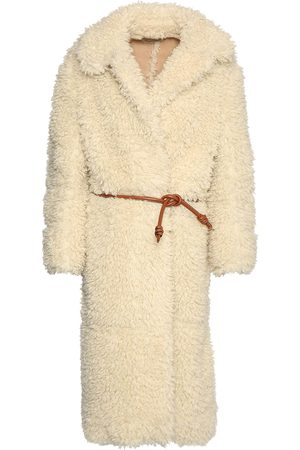 Stella McCartney Faux Shearling Long Coat