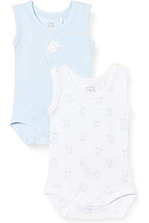 chicco Baby Boys' Set 2 Body Bimbo Senza Maniche Bodysuit