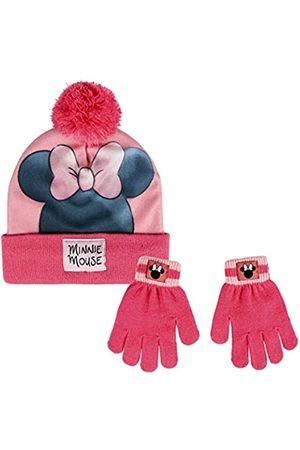 Artesanía Cerdá Girls Hats - Girl's Conjunto 2 Piezas Minnie Arm Warmer