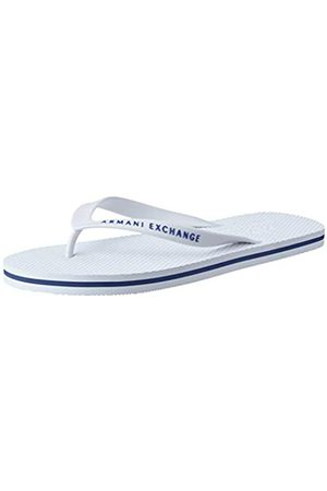 Armani Men's Classic Flip Flop, ( 00001)