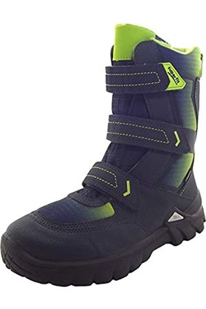 Superfit Boys' Pollux Snow Boots, (Blau/grün 80 80)
