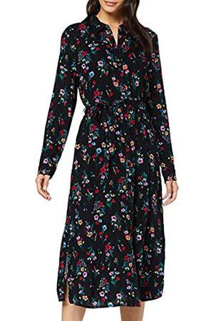 TOM TAILOR Women's Bedrucktes Dress, ( Floral Design 22409)