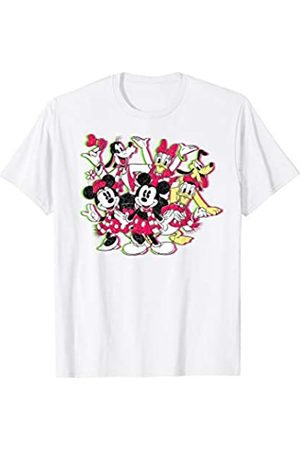 Disney Mickey And Friends Christmas Group Shot T-Shirt