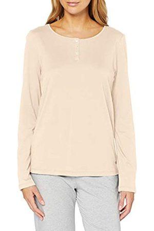 Marc O' Polo Women's Mix W-Shirt LS Henley Pyjama Top