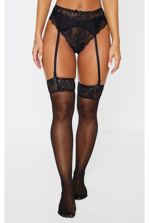 PRETTYLITTLETHING Suspender, Hold Up & Knickers Set
