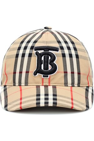Burberry TB Vintage Check cotton baseball cap