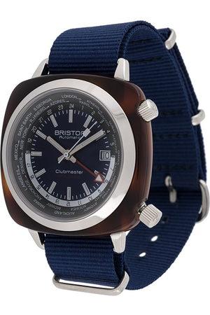 Briston Watches Men Watches - Clubmaster Traveller GMT 42mm