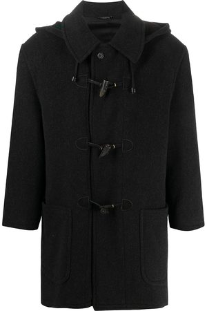 A.N.G.E.L.O. Vintage Cult 1990s tartan hood duffle coat