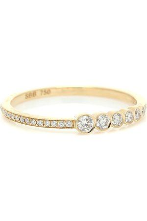 SOPHIE BILLE BRAHE Pleine de Pavé 18kt and diamond ring