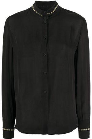 Giorgio Armani 1990s stud detailing shirt