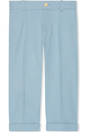 Gucci Striped smart trousers