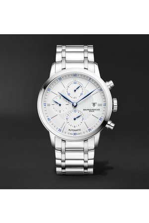 Baume & Mercier Men Watches - Classima Automatic Chronograph 42mm Stainless Steel Watch, Ref. No. M0A10331