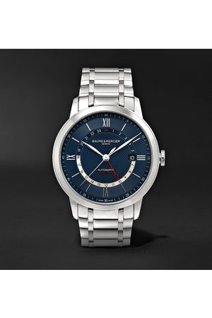 Baume & Mercier Men Watches - Classima Automatic 42mm Stainless Steel Watch, Ref. No. M0A10483
