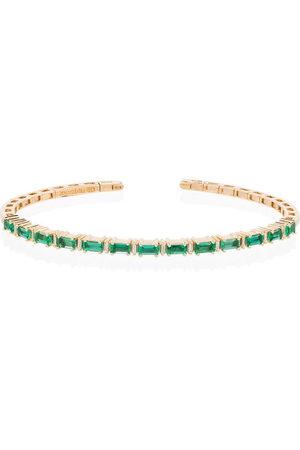 Suzanne Kalan 18kt Fireworks emerald horizontal bracelet - /