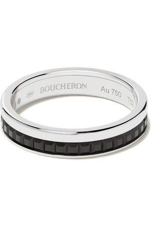 Boucheron Rings - 18kt Quatre Black Edition black PVD wedding band