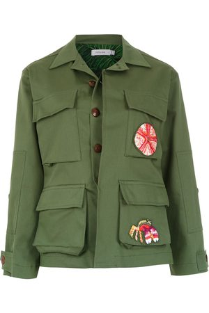 Isolda Women Jackets - Patches Army jacket