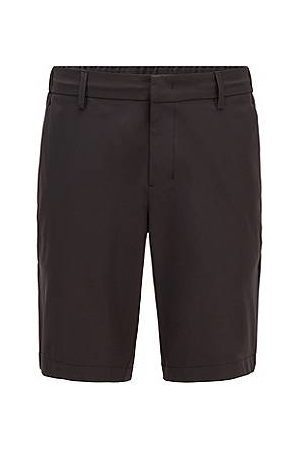 HUGO BOSS Slim-fit shorts in water-repellent technical twill