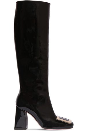 Roger Vivier 85mm Trés Vivier Patent Leather Boots