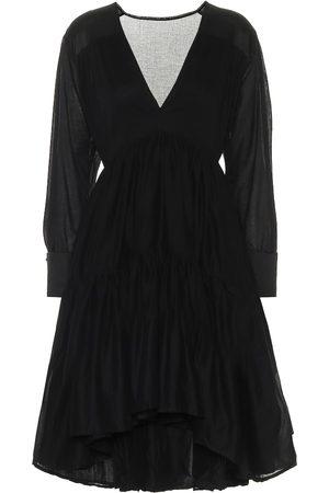 KALITA Vega cotton-voile minidress