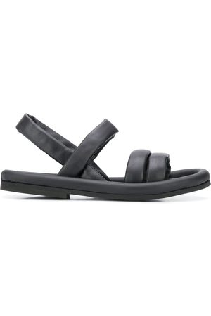 ROBERTO DEL CARLO Padded leather sandals
