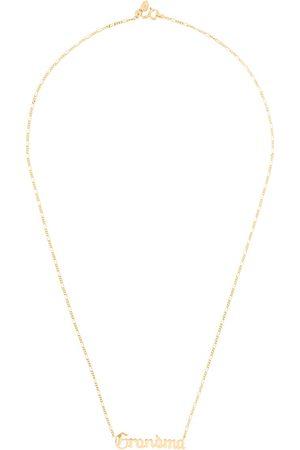 Maria Black Grandma necklace - Metallic