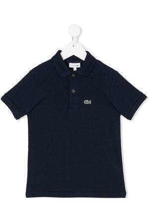 Lacoste Boys Polo Shirts - Embroidered logo polo shirt
