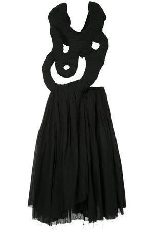 Comme des Garçons Abstract detail draped dress