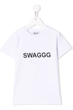 DUOltd Boys Short Sleeve - Swaggg print T-shirt