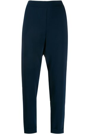 P.A.R.O.S.H. Elasticated slim-fit trousers