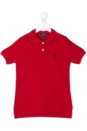 Ralph Lauren Boys Polo Shirts - Logo embroidered polo shirt