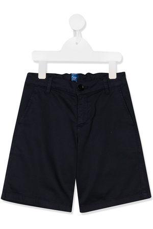Fay Kids Boys Straight - Straight leg chino shorts