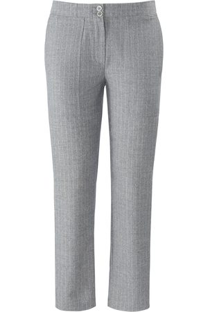 DAY.LIKE Ankle length Slim Fit trousers pinstripes size: 10s
