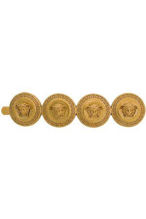 VERSACE Medusa coin hair clip - Metallic