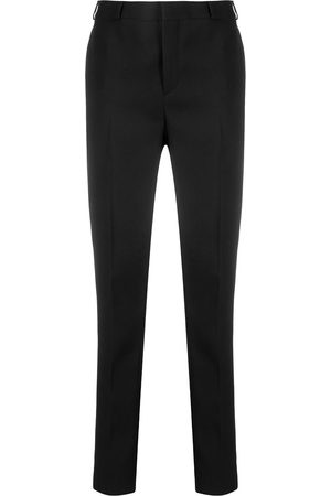 Saint Laurent High-rise tailored trousers