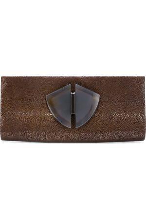 Giorgio Armani Emebellished envelope clutch