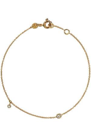 White Bird 18kt gold diamond chain bracelet - AND