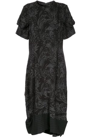 Comme des Garçons Floral jacquard dress