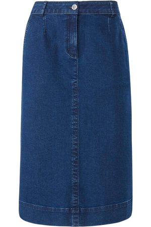 Peter Hahn Denim skirt stretchy waistband denim size: 10