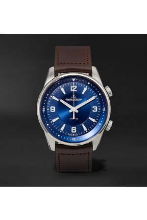 Jaeger-LeCoultre Polaris Automatic Stainless Steel and Leather Watch, Ref. No. Q3848422