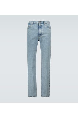 Gucci Regular-fit stone-bleached jeans