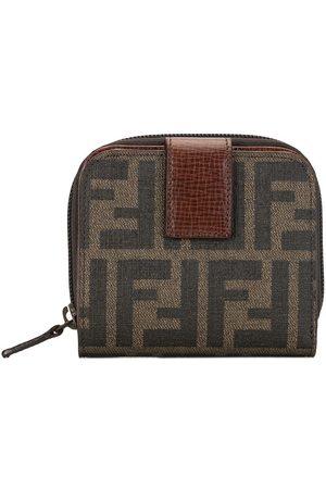 Fendi Zucca bifold zipped wallet